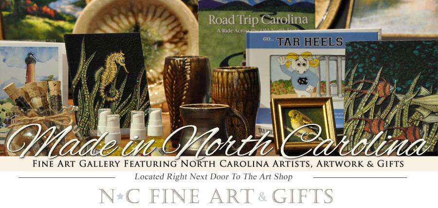 North Carolina Fine Art and Gifts - North Carolina Gift Items, Artists from North Carolina